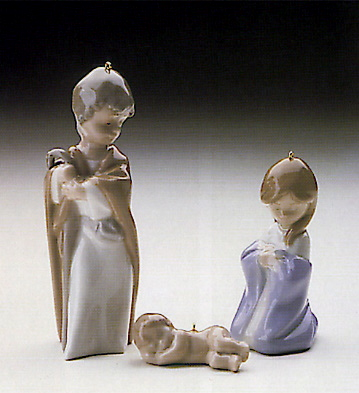 Mini Holy Family (l.e.) Lladro Figurine