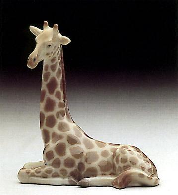 Mini Jiraffe Lladro Figurine