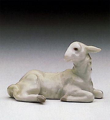 Mini Lamb Lladro Figurine