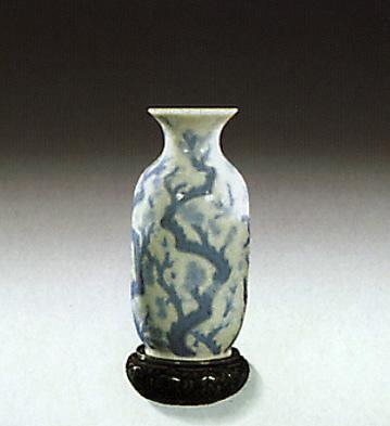 Mini-vase With Flowers Lladro Figurine