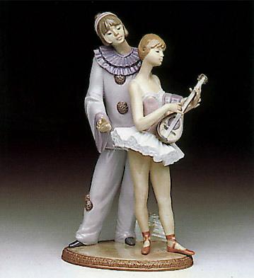 Minstrel's Love Lladro Figurine