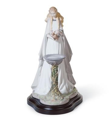 Mirror Of Galadriel Lladro Figurine