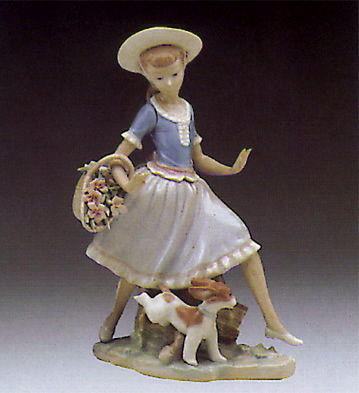 Mirth In The Country Lladro Figurine