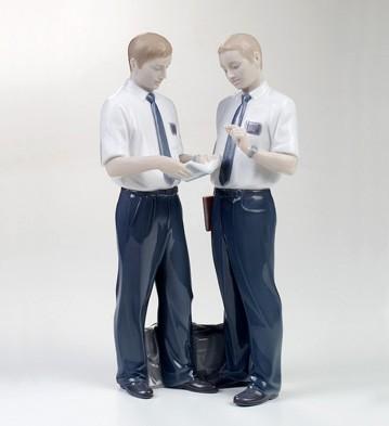 Missionaries Lladro Figurine