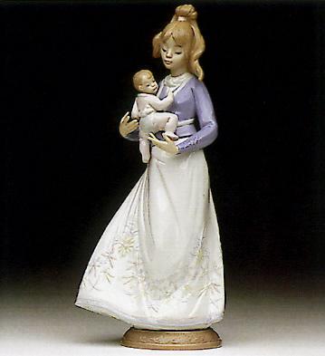 Modern Mother Lladro Figurine