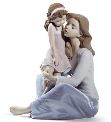Mommy's Little Girl Lladro Figurine