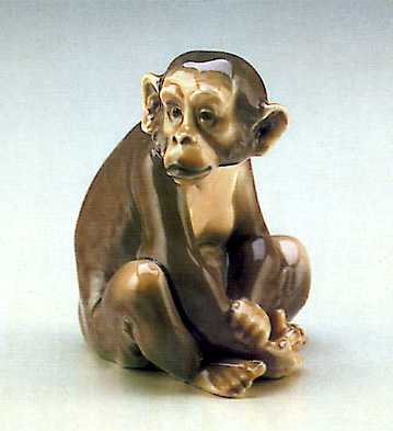 Monkey Lladro Figurine