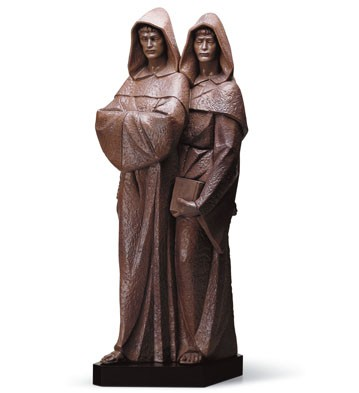 Monks (l.e.) (b) Lladro Figurine