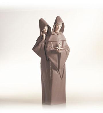 Monks Lladro Figurine