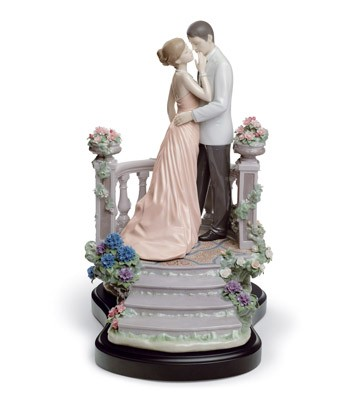 Moonlight Love Lladro Figurine