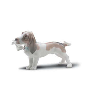 Morning Delivery Lladro Figurine