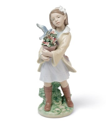 Morning Melodies Lladro Figurine