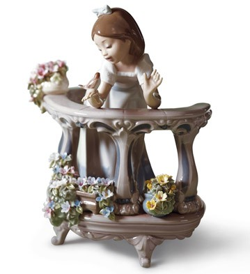 Morning Song Lladro Figurine