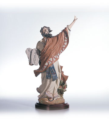 Moses & The Ten Commandments Lladro Figurine