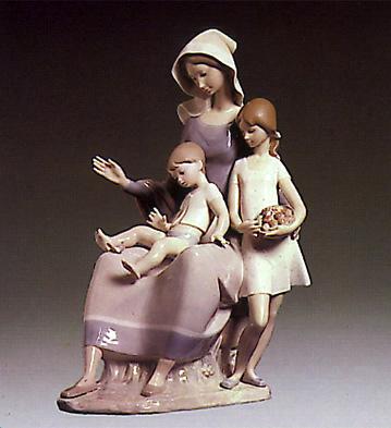Mother Lladro Figurine