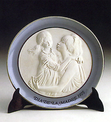 Mother's Day Plate 1.975 Lladro Figurine