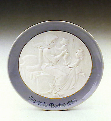 Mother's Day Plate 1980 Lladro Figurine