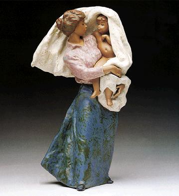 Mother's Pride Lladro Figurine