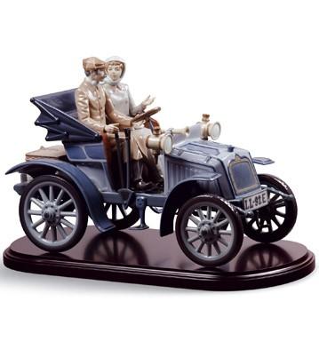 Motoring In Style (l.e.) Lladro Figurine