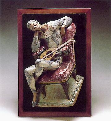 Mounted Harlequin -b- Lladro Figurine