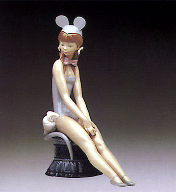 Mouse Girl Lladro Figurine