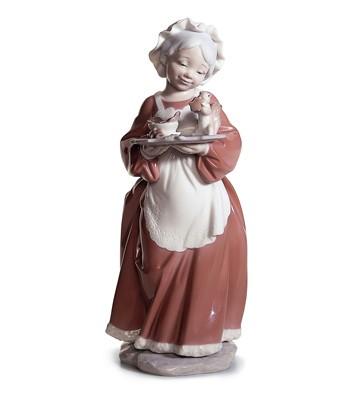 Mrs. Santa Claus Lladro Figurine
