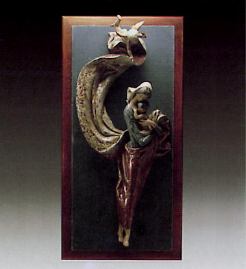 Mural Virgin -b- Lladro Figurine