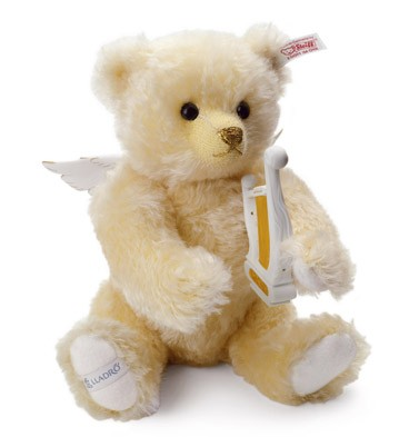 Musical Angel Teddy Bear Lladro Figurine
