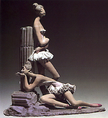 Musical Contemplation Lladro Figurine