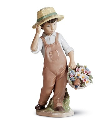 My Happy Friend Lladro Figurine