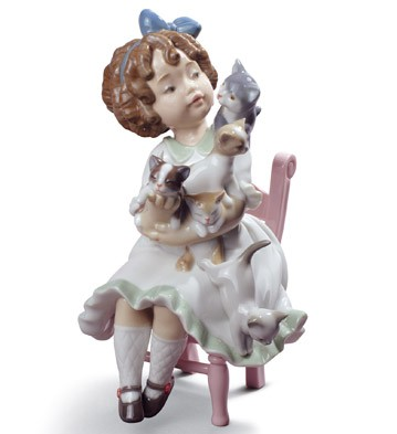 My Little Family Lladro Figurine