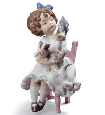 My Little Family Lladro Figurine