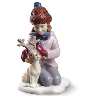 My Little Reindeer Lladro Figurine
