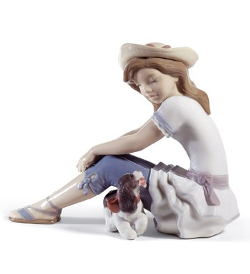 My Playful Pet Lladro Figurine