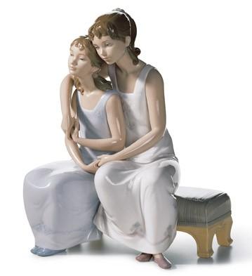 My Sister, My Friend Lladro Figurine