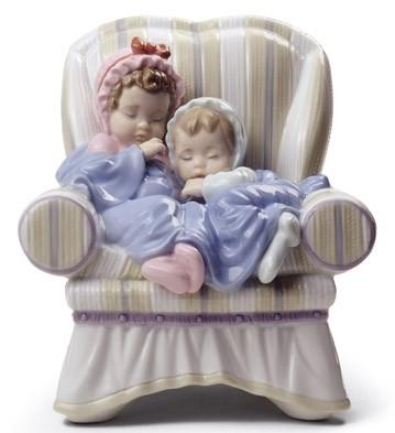 My Two Little Treasures Lladro Figurine