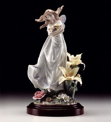 Mystical Garden L.e.p. Lladro Figurine