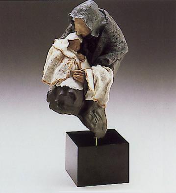 Nanny(b) Lladro Figurine