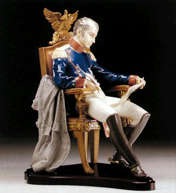 Napoleon, Planning Battle Lladro Figurine