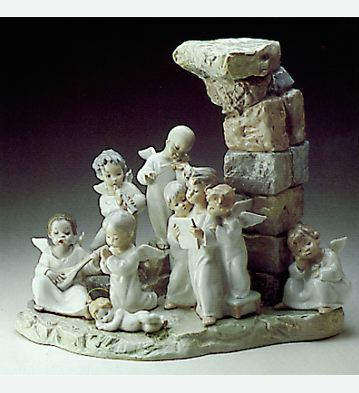 Nativity Chorus Lladro Figurine