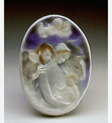 Nativity Plaque Lladro Figurine