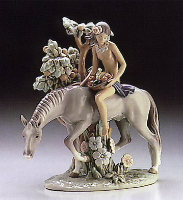 Nature Girl Lladro Figurine