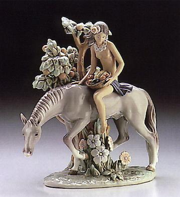 Nature Girl Lladro Figurine