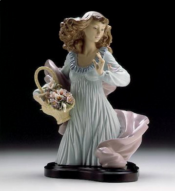 Nature's Beauty (b) Lladro Figurine