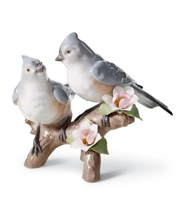 Nature's Duet Lladro Figurine