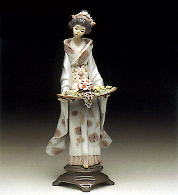 Nature's Gifts Lladro Figurine