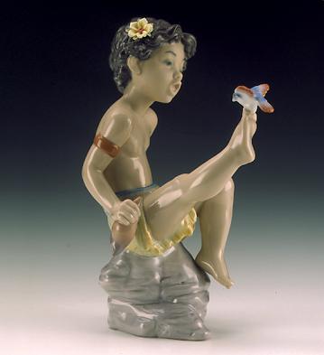 Nature's Treasures Lladro Figurine