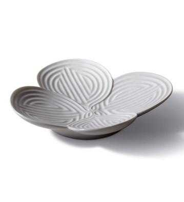 Naturo. -appetizer Plate (white) Lladro Figurine