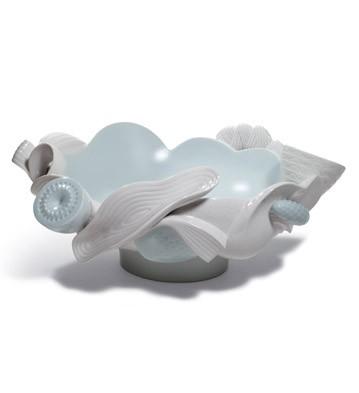 Naturo. -centerpiece(turquoise) Lladro Figurine
