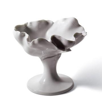 Naturo. -cocktail Goblet (white) Lladro Figurine